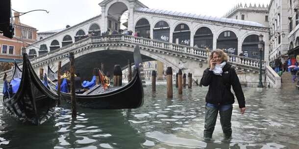 Venedig steht unter Wasser :: wetter.at