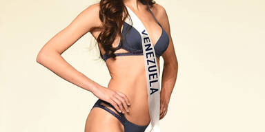 Nicht nur die bildhübsche Miss Venezuela will Miss Universum werden