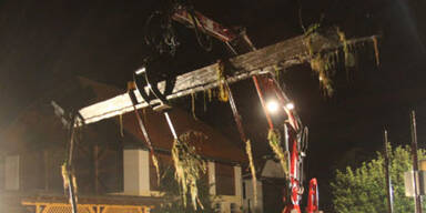 Massive Schäden im Bezirk Wolfsberg