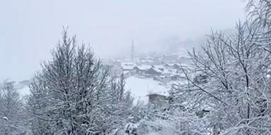 Schnee-Warnung für weite Teile Österreichs