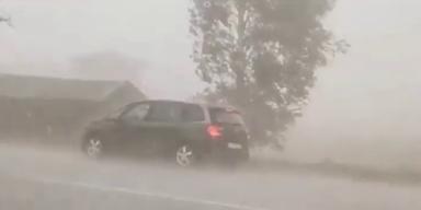 Heftige Unwetter erschüttern weite Teile Österreichs