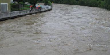 Hochwasser in Vöcklabruck