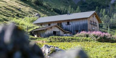 Gefrorene Leiche in Vorarlberger Berghütte entdeckt
