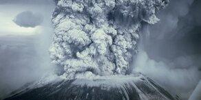 Russischer Vulkan Bolschaja Udina wieder aktiv