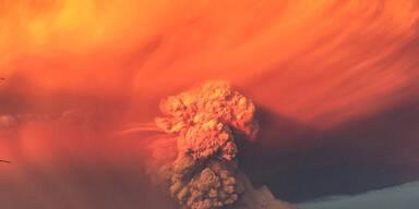 Gewaltiger Vulkanausbruch in Südchile