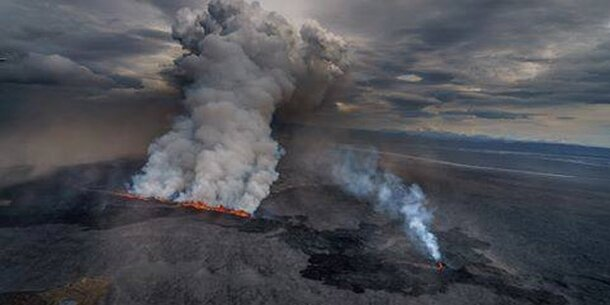 Island-Vulkan brodelt wieder