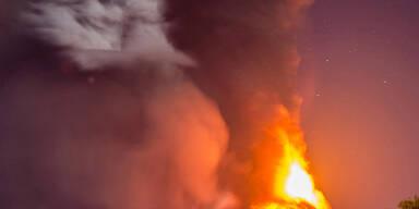 Vulkan in Chile ausgebrochen
