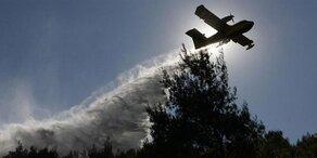 Griechenland: Großeinsatz gegen Waldbrände