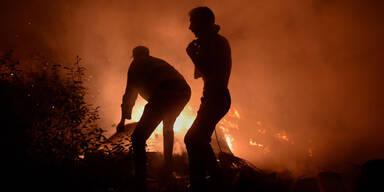 Waldbrand Spanien