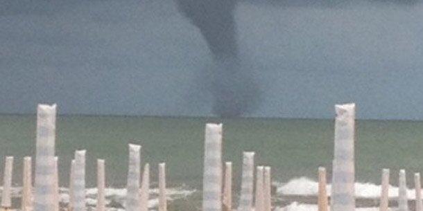 Tornado vor Jesolo gesichtet