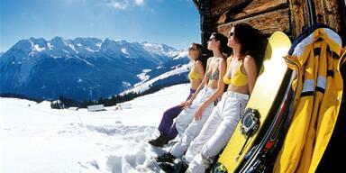 Sonne, Ski, Wetter, Frühling