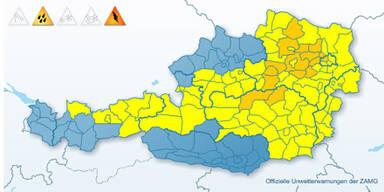 Wetterwarnungen Österreich