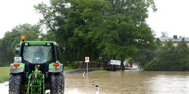 Starkregen überflutet Österreich