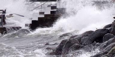 Sturm fegt über Europa