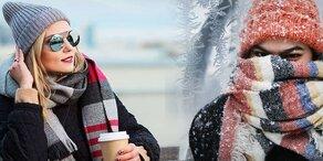 Verrückt: 11 Grad im Westen, Minusgrade im Osten