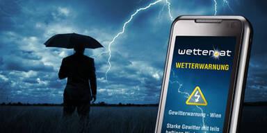Unwetterwarnung SMS