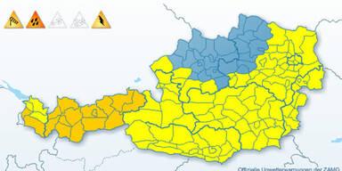 Wetterwarnung Österrreich