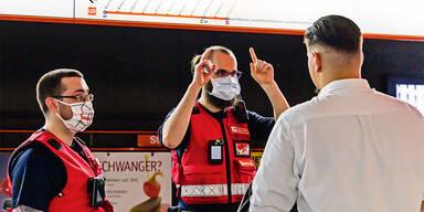 Wiener Öffis: Schon 55.000 Ermahnungen für Masken-Sünder