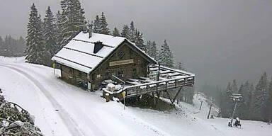 Skandinavientief: Heute kommen bis zu 15 cm Schnee