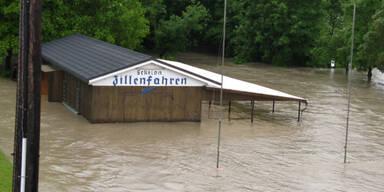 Hochwasser in Ennsdorf