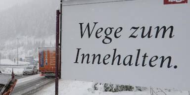 Schnee-Chaos am Brenner